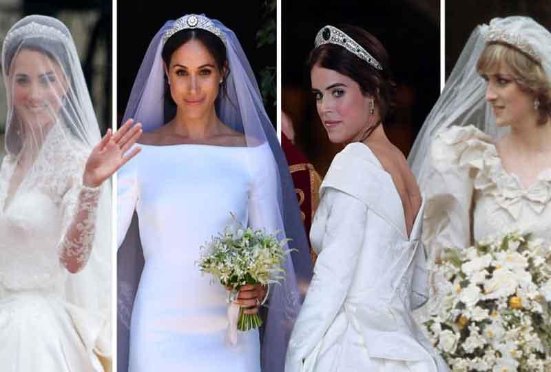 جاوبي على الأسئلة وشوفي أي فستان زفاف ملكي يناسبك