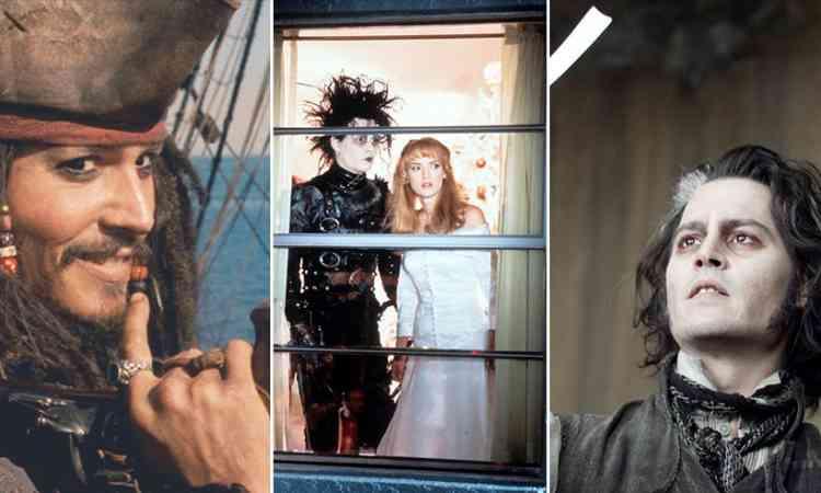 أفلام جوني ديب صاحب الأداء المميز والشخصيات الغريبة