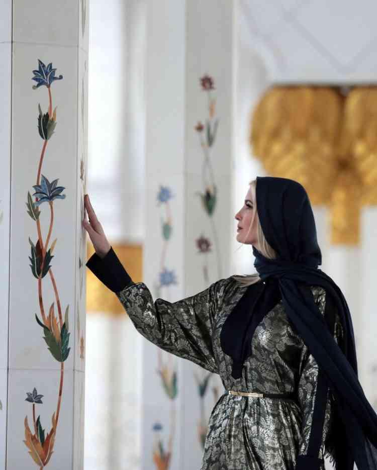 إيفانكا ترامب في الإمارات من أجل منتدي المرأة العالمي