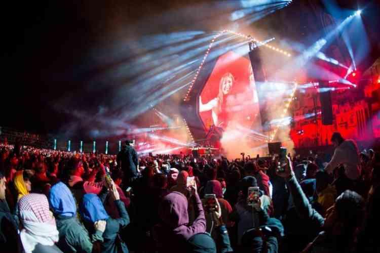 القبض على متهمين بالتحرش الجنسي في مهرجان بالرياض