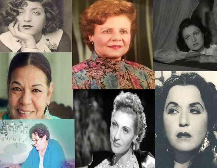 رائدات مصريات في السينما والمسرح والتلفزيون