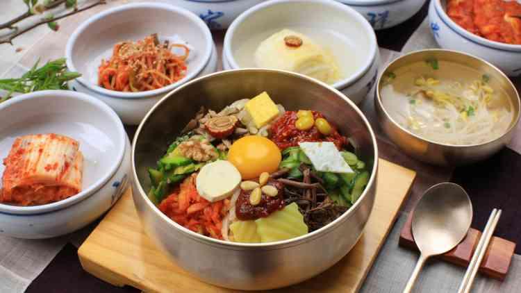 قائمة أكلات كورية مميزة وشهية وسهلة التحضير
