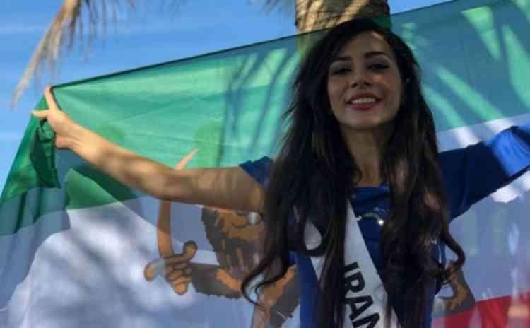 ملكة جمال إيران تطلب اللجوء للفلبين هربا من القتل