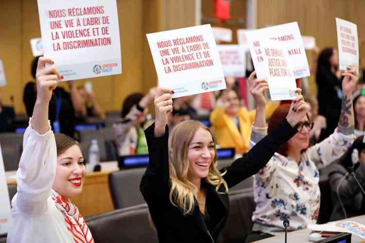 منتدى جيل المساواة في نشرة الأمم المتحدة للمرأة