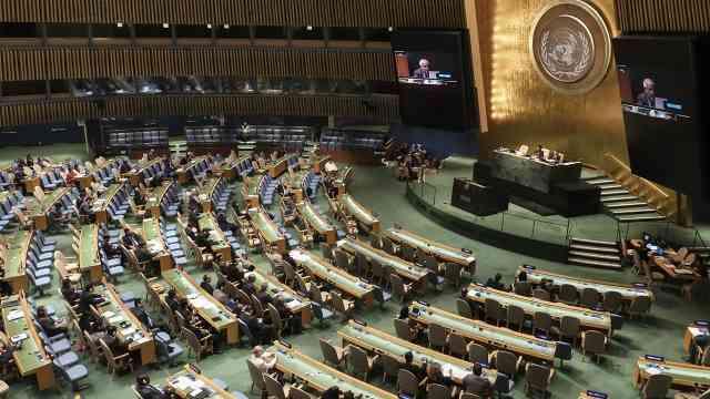 الدورة 76 للأمم المتحدة: قيادة المرأة بقلب التعافي من كوفيد- 19