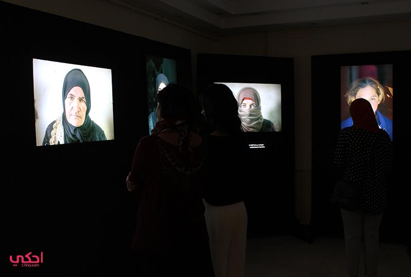 الحضور في معرض سيدات سوريا