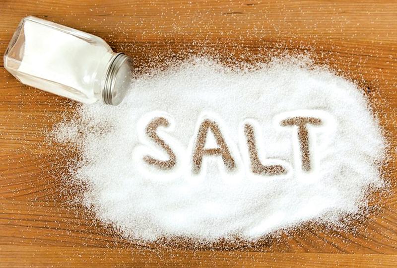 الملح التهاب اللثة